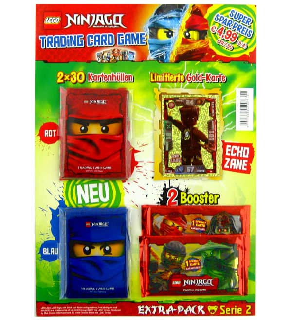 Lego Ninjago Serie 2 Trading Cards - Extra-Pack