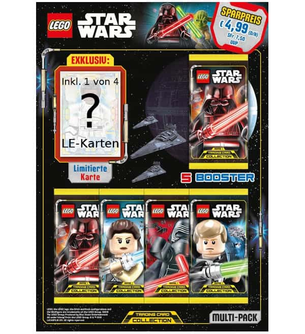 Lego Star Wars Serie 1 Trading Cards - Multipack