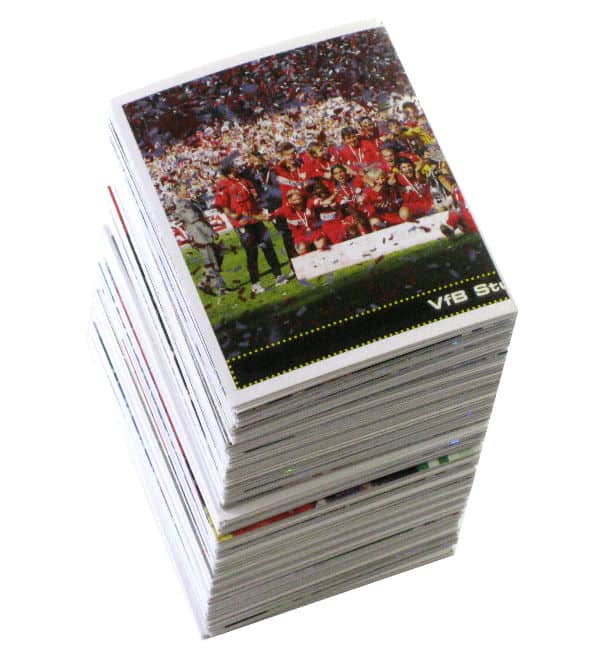 Panini Fussball 2007-2008 tous stickers