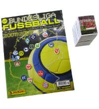 Panini Fussball 2007-2008 Set - tous stickers + Album