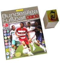 Panini Fussball 2008-2009 Set - tous stickers + Album