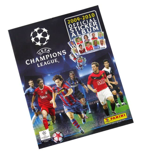 Panini Champions League 2009-2010 album