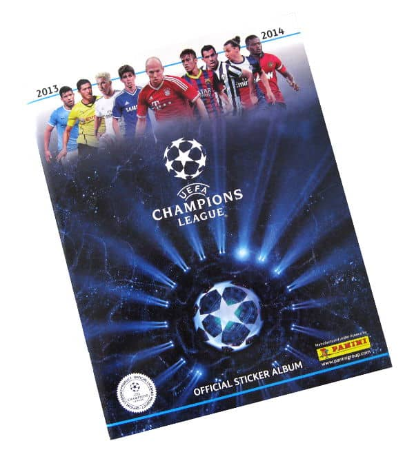 Panini Champions League 2013-2014 album