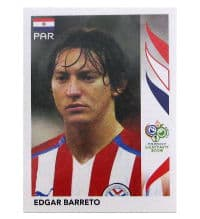 Panini Coupe du Monde 2006 Update Sticker - Edgar Barreto
