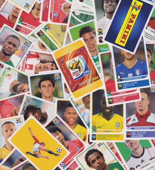 Panini Coupe du Monde 2010 - 80 extra stickers individuels