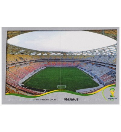 Panini Coupe du Monde 2014 Platinum Edition stade Sticker