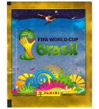 Panini Brasil 2014 pochette or - Version Argentine