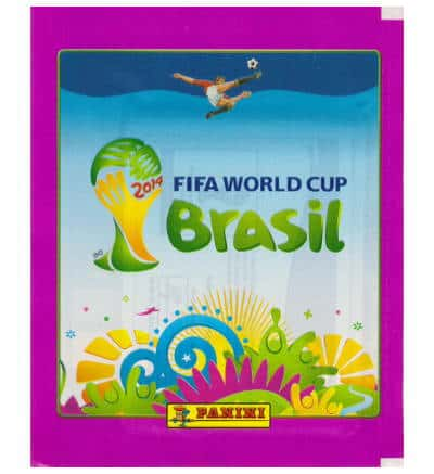 Panini Brasil 2014 pochette rose - version Russie