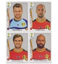 Panini Coupe du Monde 2014 Update Set Belgique - 84 Sticker