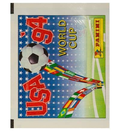 Panini Coupe du Monde 94 pochette international Coupe du Monde 1994 avant