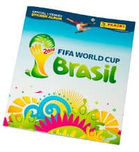 Panini Coupe du Monde 2014 stickers album