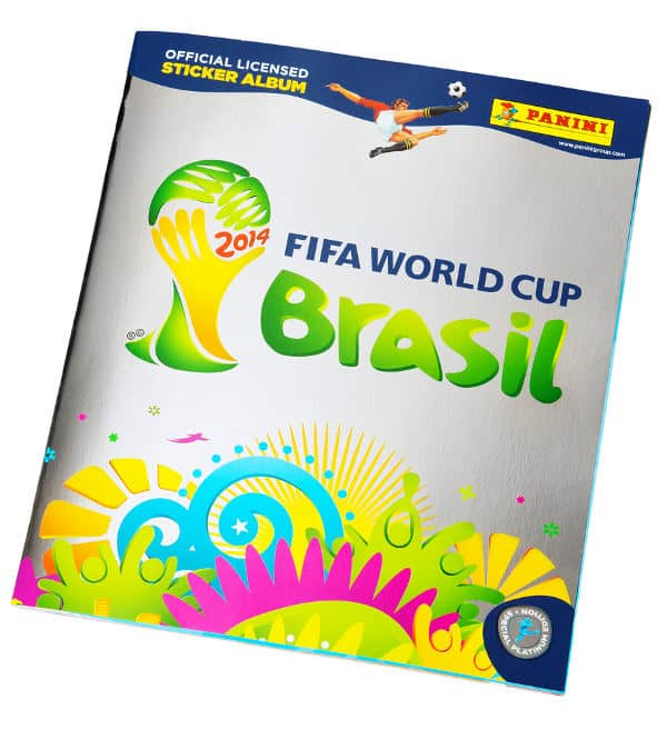 Panini Coupe du Monde 2014 Platinum Edition album