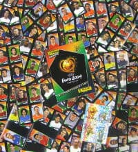 Panini EURO 2004 Mini Stickers Set Complet + Album