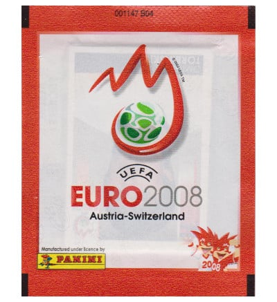 Panini Euro 2008 pochette - rouge Version
