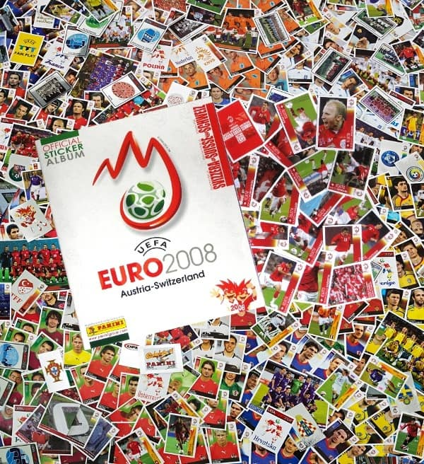 Panini Euro 2008 Suisse Edition - tous stickers + Album