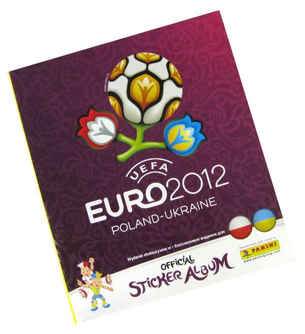 Panini Euro 2012 Album Version Pologne Ukraine