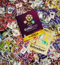 Panini EURO 2012 set complet allemande deluxe