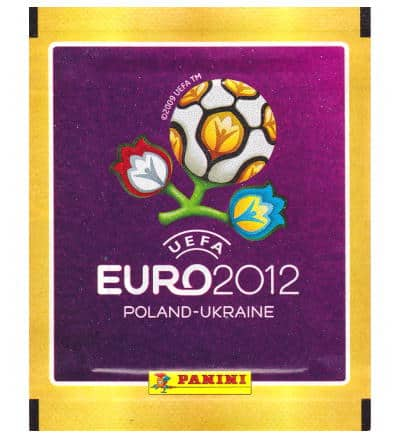 Panini Euro 2012 pochette - version international
