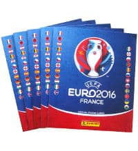 Panini EURO 2016 - 5 albums seconde qualité