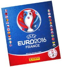 Panini EURO 2016 stickers album version autrichienne