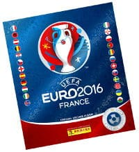 Panini EURO 2016 Star Edition album suisse