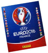 Panini EURO 2016 stickers album version allemande