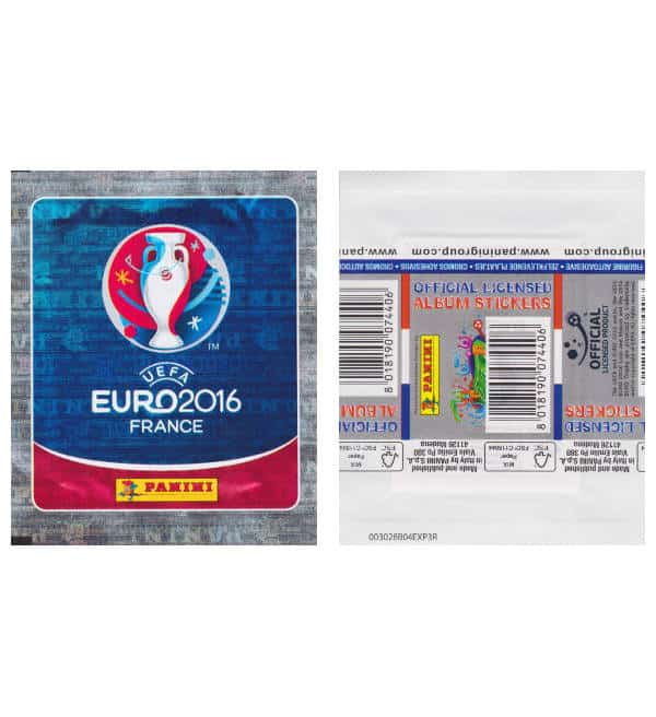 Panini EURO 2016 pochette - version internationale