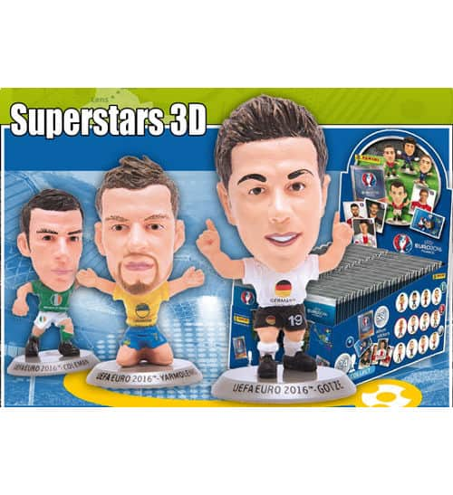 Panini EURO 2016 Superstars figurines