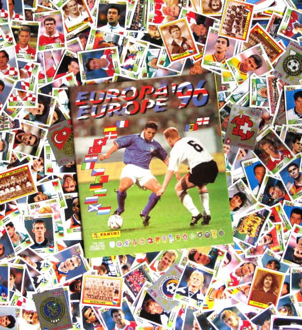 Panini Euro 96 tous 354 Sticker + Album