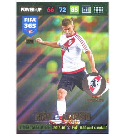 Panini FIFA 365 2017 Adrenalyn XL carte Power Up Ivan Alonso