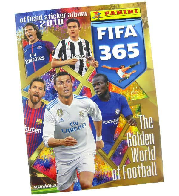 Panini FIFA 365 2018 stickers - album