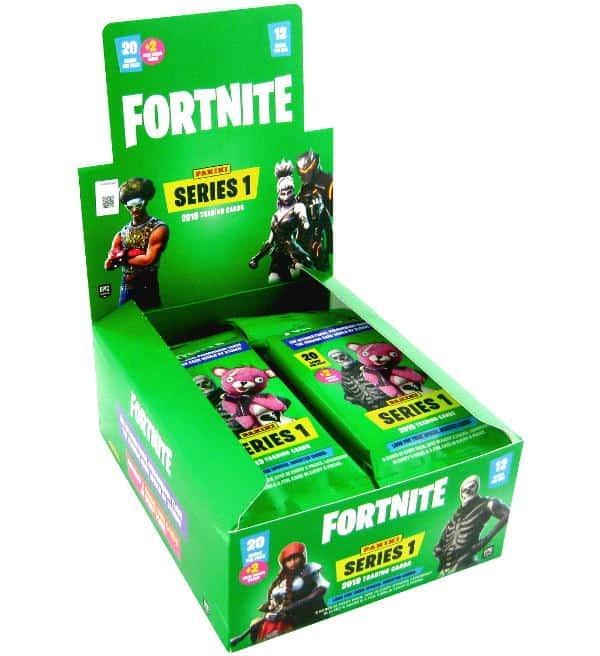 PANINI Fortnite trading cards 2019-1 Écran 24 booster Pochettes