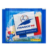 Panini France 98 pochette de 5 stickers