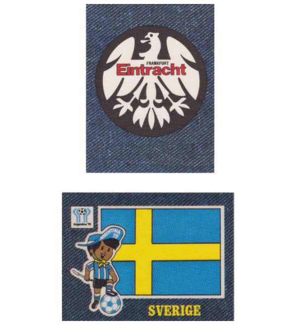 Panini Jeans 1978 Football Stickers