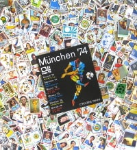 Panini Munich 74 - tous 400 Stickers + Album