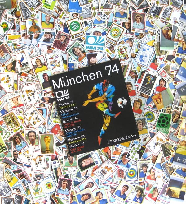Panini Munich 74 - tous stickers + Album