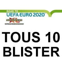 Panini Road to Euro 2020 Adrenalyn XL - Tous 10 blisters