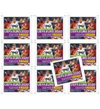 Panini Road to Euro 2020 Stickers - 10 Pochettes
