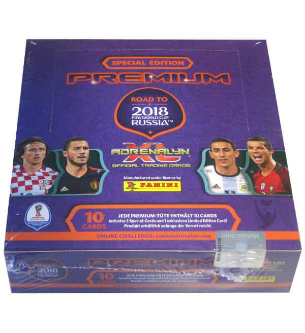 Panini Road to World Cup 2018 Adrenalyn XL Premium Box