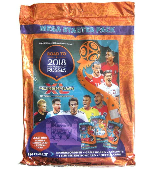 Panini Road to Russia 2018 Adrenalyn XL Starter Pack