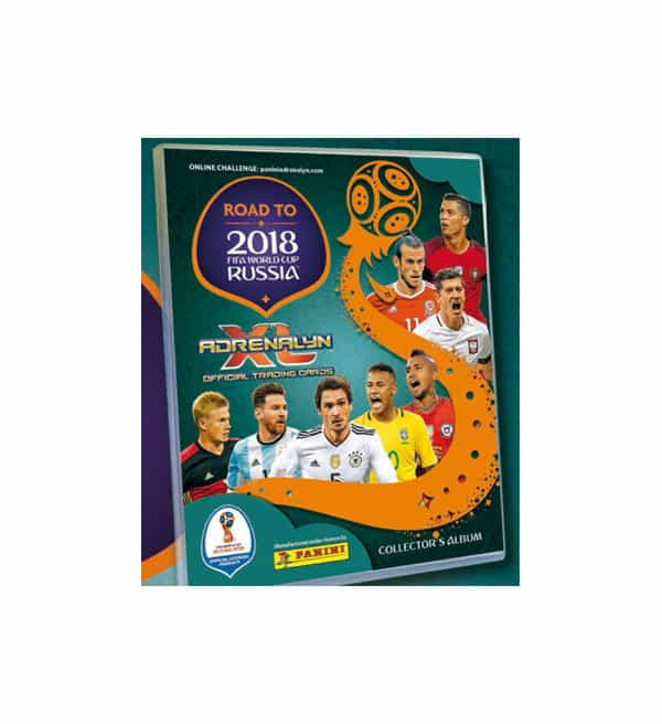 Panini Road to Russia 2018 Adrenalyn XL Starter Set