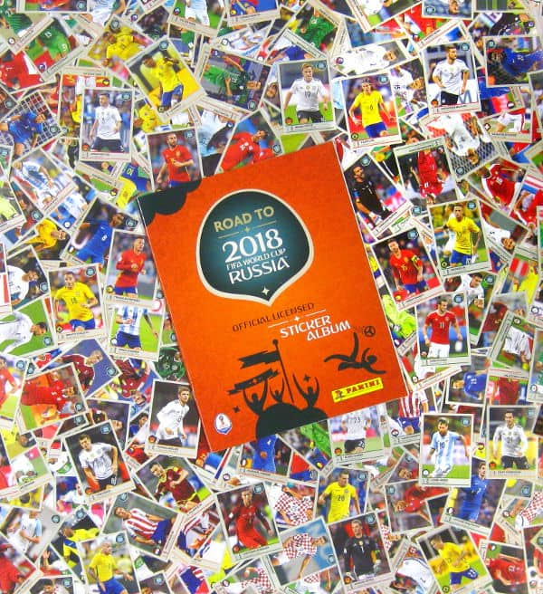 Panini Road to World Cup 2018 set complet + album vide