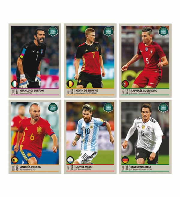 Panini Road to World Cup 2018 Stickers Album | Stickerpoint
