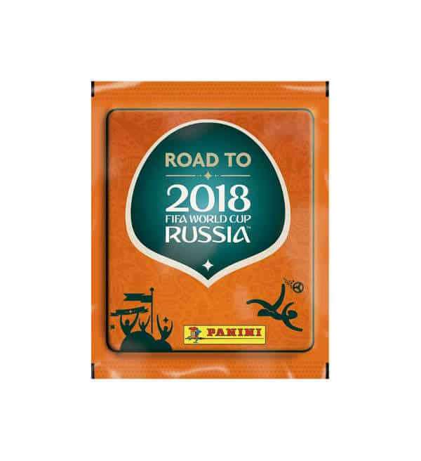 Panini Road to World Cup 2018 Stickers Pochette