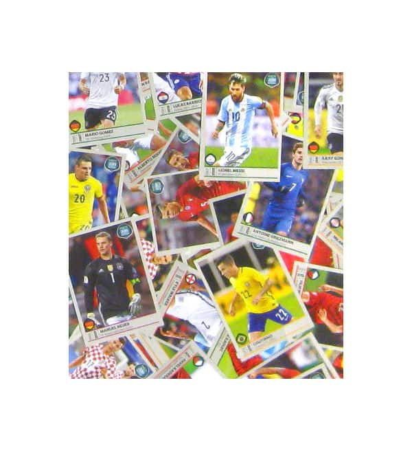 Panini Road to World Cup 2018 - toutes les stickers