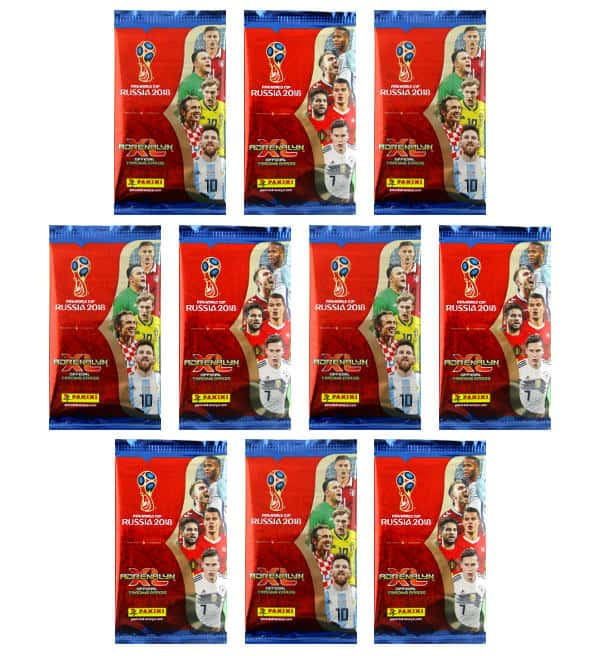 Panini Russia 2018 Adrenalyn XL - 10 Booster