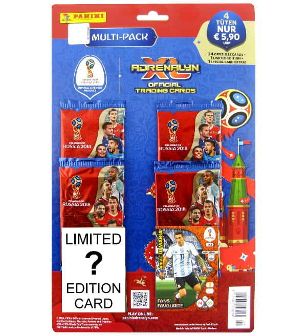 Panini Russia 2018 Adrenalyn XL Multi-Pack