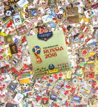 Panini Russia 2018 Gold Edition - set complet + album vide
