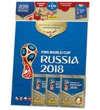 Panini Russia 2018 Stickers - Hardcover Starterpack