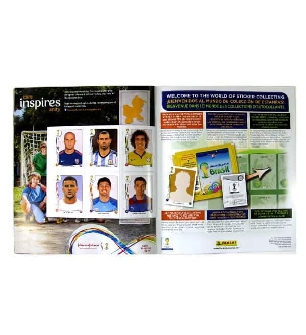 Panini World Cup Brasil 2014 Album USA gratuitsticker